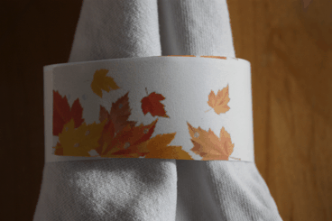 Fall Leaves Napkin Ring