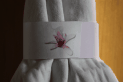 Pink Orchid Napkin Ring